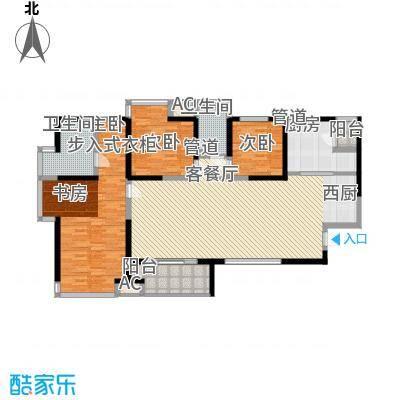 东安叁城149.46㎡东安叁城户型图C5户型图3室2厅2卫1厨户型3室2厅2卫1厨
