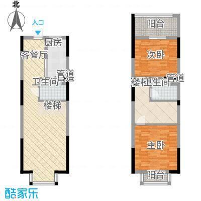 三泰茗居三泰茗居户型图户型-q2室2厅2卫1厨户型2室2厅2卫1厨