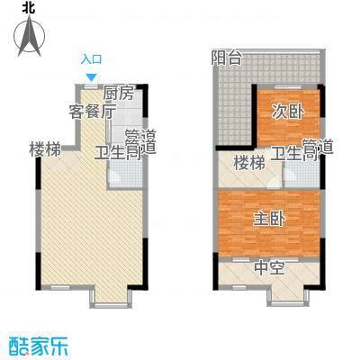 三泰茗居三泰茗居户型图户型-t2室2厅2卫1厨户型2室2厅2卫1厨