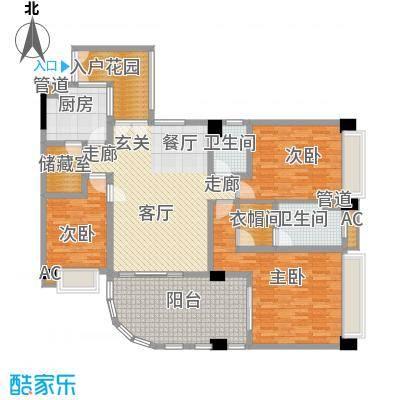 颐和上院149.34㎡颐和上院户型图4室2厅户型图4室2厅2卫1厨户型4室2厅2卫1厨