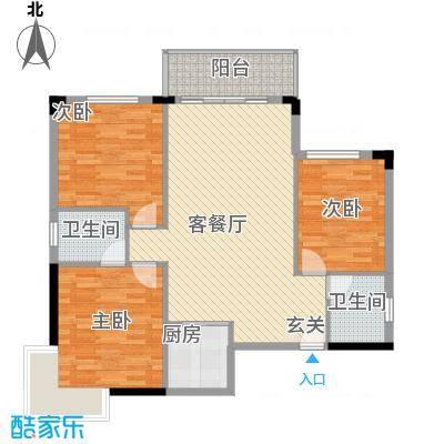 梦园小区184.00㎡梦园小区4室户型4室