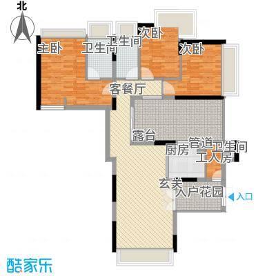 梦园小区138.00㎡梦园小区4室户型4室