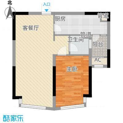 三盛颐景园70.45㎡三盛颐景园户型图二期E户型2室1厅1卫1厨户型2室1厅1卫1厨