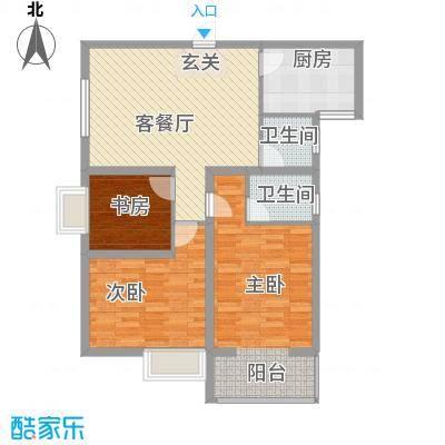 海�时代112.00㎡海�时代户型图3室2厅2卫户型3室2厅2卫