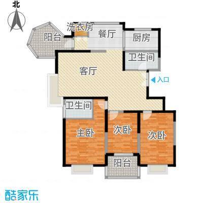 长庆兴盛园151.76㎡3#户型3室1厅2卫1厨