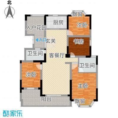 国光山水间133.77㎡国光山水间户型图Q户型4室2厅2卫1厨户型4室2厅2卫1厨