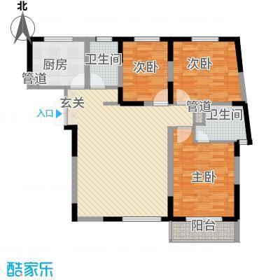 金星家园123.00㎡金星家园户型图逸湖居3室2厅2卫1厨户型3室2厅2卫1厨