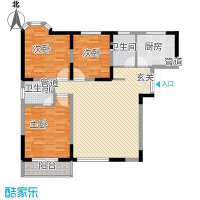 金星家园120.00㎡金星家园户型图逸湖居3室2厅2卫1厨户型3室2厅2卫1厨