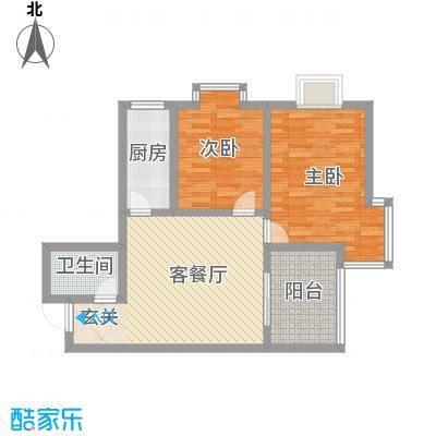 伟丰花园91.00㎡伟丰花园户型图2室2厅1卫户型2室2厅1卫