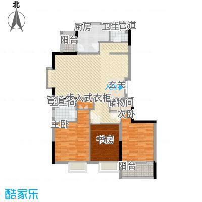 世纪之选花园206.00㎡世纪之选花园4室户型4室