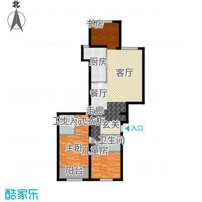 蔚蓝印象125.43㎡蔚蓝印象户型图创意空间2室2厅2卫1厨户型2室2厅2卫1厨