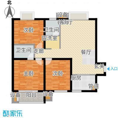 安粮双景佳苑123.00㎡安粮双景佳苑户型10室