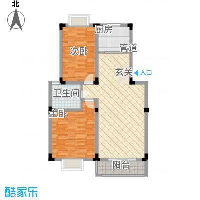 康城水云间康城水云间户型图2室2厅1卫1厨户型10室