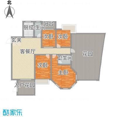 宜华居宜华居户型图4室2厅户型图4室2厅2卫1厨户型4室2厅2卫1厨