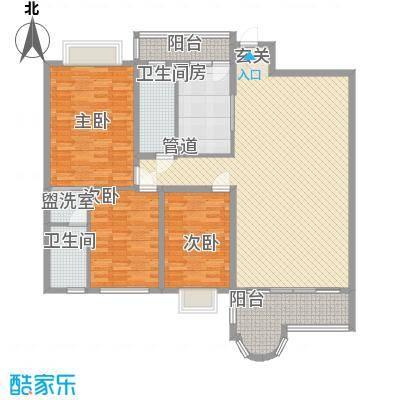 花都丽景大厦花都丽景大厦户型图3室2厅户型图3室2厅1卫1厨户型3室2厅1卫1厨