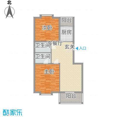 银领花园108.73㎡银领花园户型图2室2厅2卫1厨户型10室