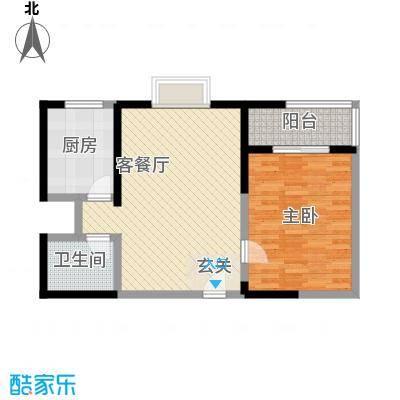 家立方88.00㎡家立方2室户型2室