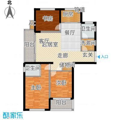 龙兴苑 2室 户型图