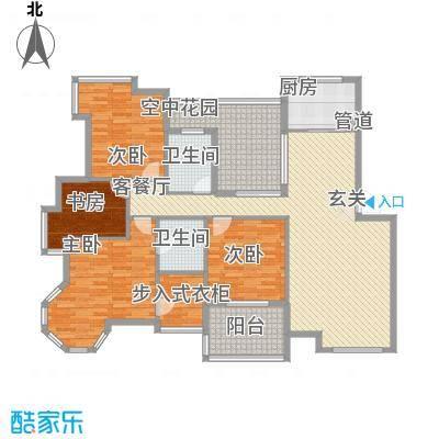 金水童话名苑户型图F1四室两厅二卫 149.8-151.4㎡ 4室2厅2卫1厨