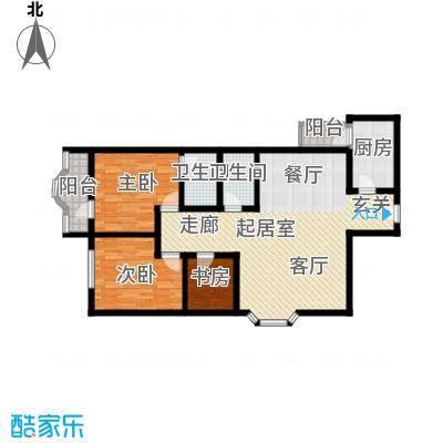 好景花园户型图3室1厅 户型图 3室1厅2卫1厨