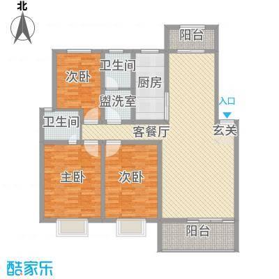 唐南香榭159.00㎡唐南香榭3室户型3室