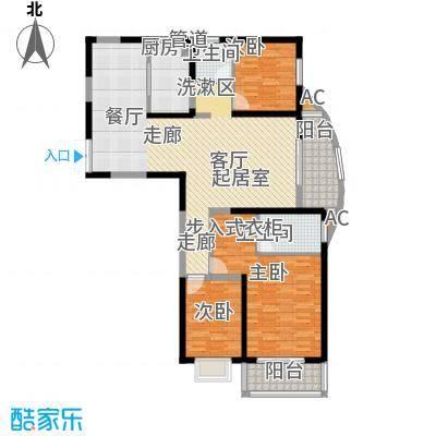 蔚蓝风景144.70㎡蔚蓝风景户型图A1户型图3室2厅2卫1厨户型3室2厅2卫1厨