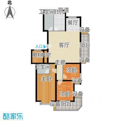 华宇未来城132.00㎡华宇未来城3室户型3室