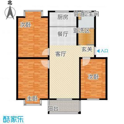 华宇未来城151.00㎡华宇未来城5室户型5室