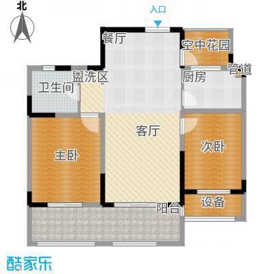 华宇未来城华宇未来城户型图hx12室2厅1卫1厨户型2室2厅1卫1厨