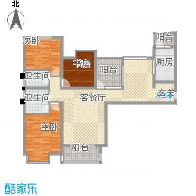 八一小区125.00㎡八一小区3室户型3室