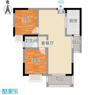 新华阳光国际新华阳光国际户型图11-22室2厅1卫1厨户型2室2厅1卫1厨