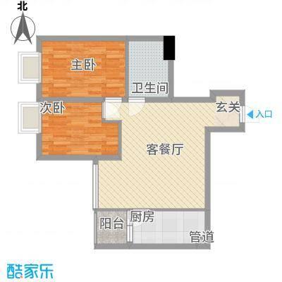 北京路五号公馆78.00㎡北京路五号公馆户型图2室1厅户型图2室1厅1卫1厨户型2室1厅1卫1厨