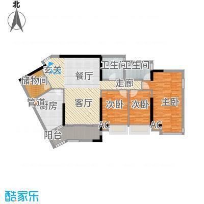 颐和上院135.00㎡颐和上院户型图B栋一座013室2厅2卫1厨户型3室2厅2卫1厨
