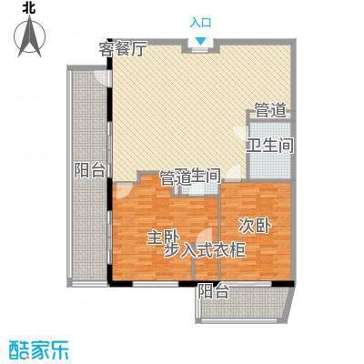 克拉码头141.92㎡克拉码头户型图01户型2室1厅1卫1厨户型2室1厅1卫1厨