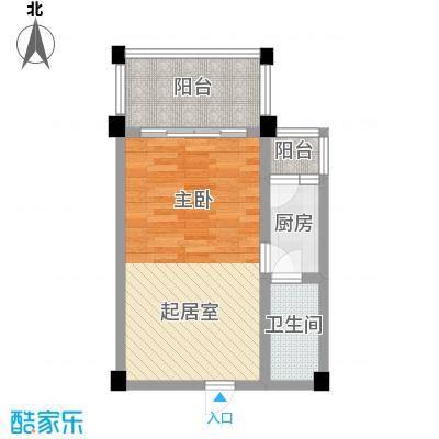 太阳河温泉度假中心太阳河温泉度假中心户型图C区1室1厅1卫1厨户型1室1厅1卫1厨