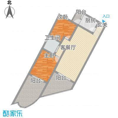 中州国际酒店115.53㎡中州国际酒店户型图B1户型2室2厅1卫1厨户型2室2厅1卫1厨
