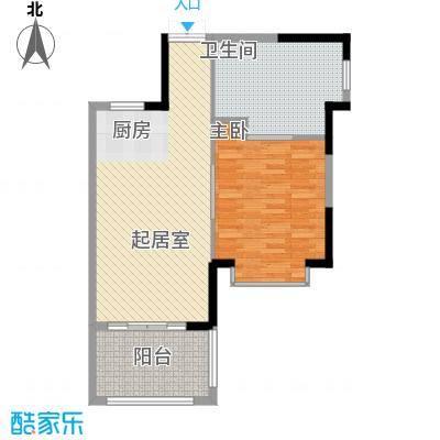 椰海福湾82.34㎡椰海福湾户型图公寓户型-揽海1室1厅1卫户型1室1厅1卫