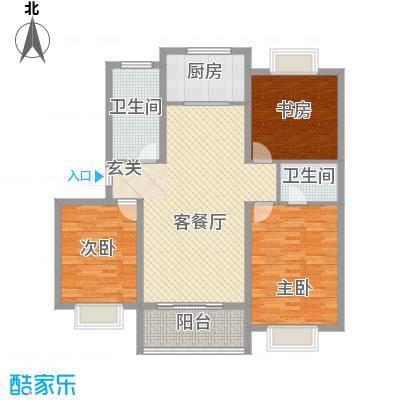 三亚昌达四季花园150.00㎡三亚昌达四季花园3室户型3室