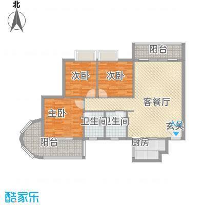 东海豪庭花园131.67㎡东海豪庭花园3室2厅1卫1厨131.67㎡户型10室