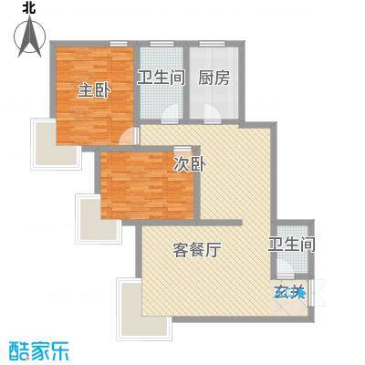 东海豪庭花园东海豪庭花园户型图1321500667048_0002室2厅2卫1厨户型2室2厅2卫1厨