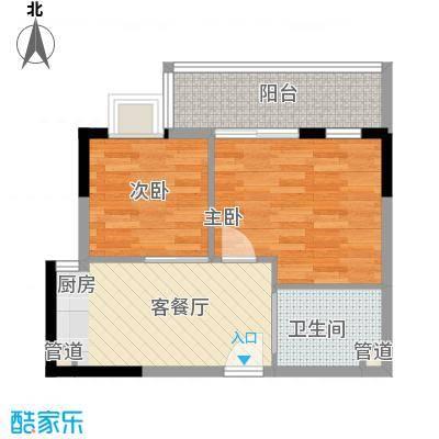 三亚印象三亚印象户型图2-2-1-12室2厅1卫1厨户型2室2厅1卫1厨