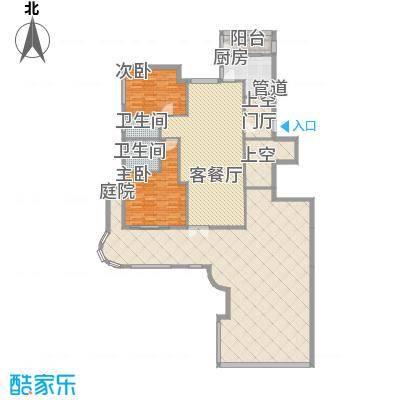 大�海・半山壹�128.00㎡大�海・半山壹�户型图A8B6(带露台)2室2厅2卫户型2室2厅2卫