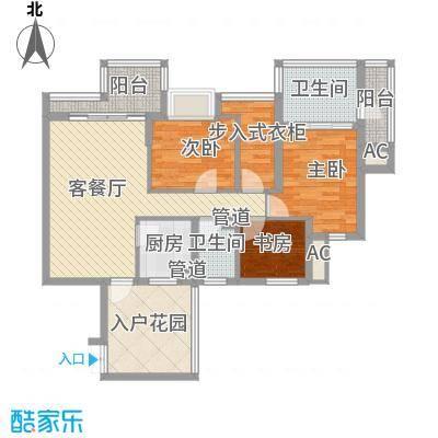 水三千107.55㎡水三千户型图J座G13室2厅2卫户型3室2厅2卫