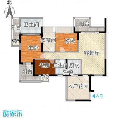 水三千114.38㎡水三千户型图J座G23室2厅2卫户型3室2厅2卫