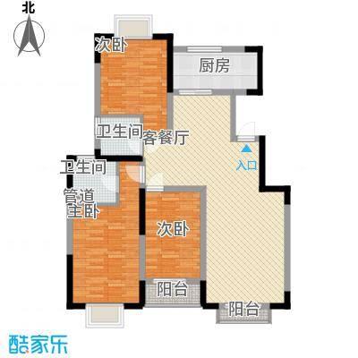 怡水花园114.50㎡怡水花园户型图B1户型3室2厅2卫1厨户型3室2厅2卫1厨