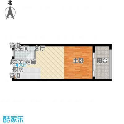 金中海蓝钻49.75㎡金中海蓝钻户型图E户型户型10室