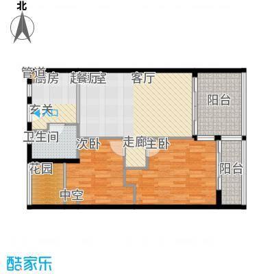金中海蓝钻80.28㎡金中海蓝钻户型图C户型2室1厅1卫1厨户型2室1厅1卫1厨