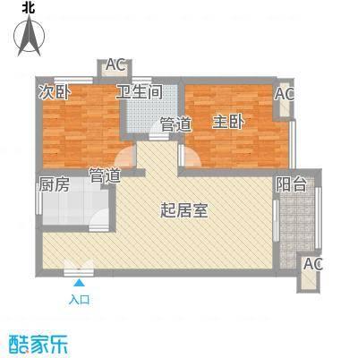 金辉天鹅湾82.00㎡金辉天鹅湾户型图12号楼82平户型2室2厅1卫1厨户型2室2厅1卫1厨