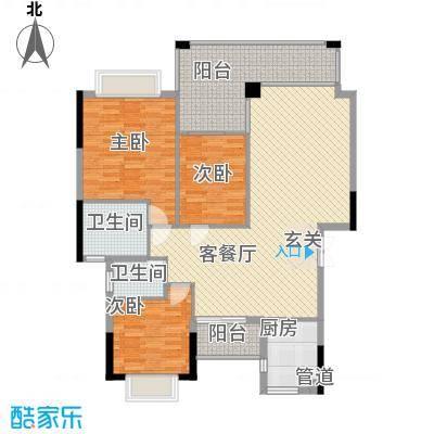 海关宿舍150.00㎡海关宿舍3室户型3室
