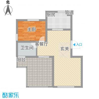 凭海临风凭海临风户型图一房户型图1室1厅1卫1厨户型1室1厅1卫1厨